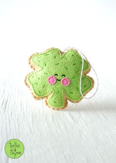 PDF patroon  suiker Cookie Shamrock St. Patrick's door sosaecaetano