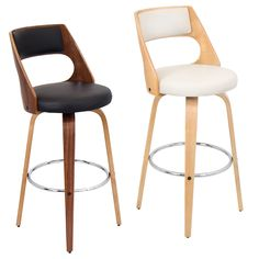 Cecina Wood Barstool - Overstock™ Shopping - Great Deals on LumiSource Bar Stools $170.99