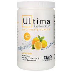 Ultima Replenisher  Lemonade, 11.1 oz (315 grams) Pwdr AED373.00 #UAESupplements