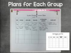 KinderGals: How to Organize Your Guided Reading Materials