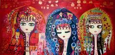 Open Art, Puzzle Art, Turkish Art, Pink Elephant, Indian Paintings, Textiles, Art Festival, Painting Patterns, Painting Inspiration