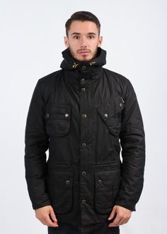 Barbour International Fog Parka