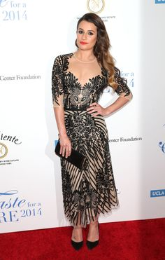 """4/25/14 -Lea Michele at the Jonsson Cancer Center Foundation's 19th Annual """"Taste For A Cure"""" events in Beverly Hills."""