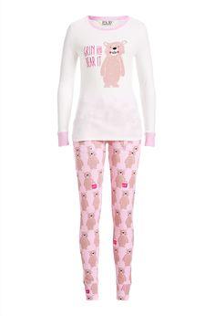 Image for Smiley Bear Pj Set from Peter Alexander Pajama Set, Pajama Pants, Womens Pyjama Sets, Men Online, Pj Sets, Pajamas Women, Pjs, Smiley, Classic Style