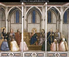 Christ Among the Doctors 1310s - Giotto Di Bondone - www.giottodibondone.org