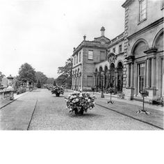 Clumber Park  The Upper Terrace at Clumber Park. The house was demolished in 1938. Pub Orig CL 19/09/1908