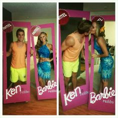 Middle aged barbie and mid life crisis ken couple costume the perfect barbie and ken costume my friends lauren and chris solutioingenieria Images