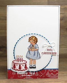Stampin' Up! Girl Birthday Cards, Friend Birthday, Birthday Greetings, Birthday Kids, Birthday Delivery, Stampin Up Catalog, Birthday Numbers, Animal Birthday, Kids Cards
