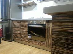 Exotic veneer kitchen by Daddy Andrey