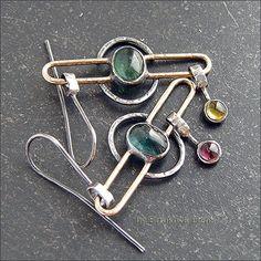 Earrings with tourmalines - Strukova Elena - author decorations
