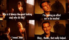Doctor Who -- The 9th Doctor and Rose Tyler