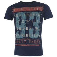 Firetrap Boys Short Sleeve T Shirt T-Shirt Tee Top Set Infant