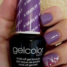 My new favorite gel polish! A Grape Fit