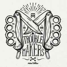 Trouble Makers by Piotr Jakuboski
