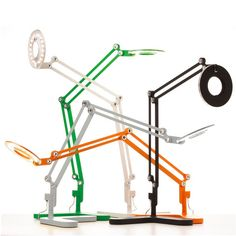 Yasi Design — Link Small Table, orange