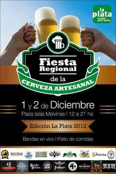 Fiesta Regional de la Cerveza Artesanal en La Plata