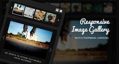 jQuery image gallery plugins help you to make classy photo galleries and sliders equipped with powerful jQuery effects.