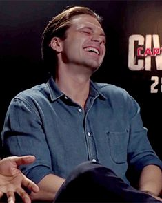 Love that laugh and those eye crinkles