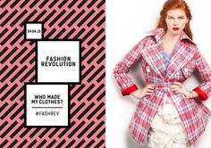 18 Ways to Celebrate Fashion Revolution Day - Conscious Living TV Ethical Fashion, High Fashion, Living Tv, Campaign Fashion, Designs To Draw, Sustainable Fashion, Wrap Dress, 18th, Tie Dye