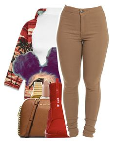 """6/10/16"" by lookatimani ❤ liked on Polyvore featuring Yves Saint Laurent, WearAll, Casio, MAC Cosmetics, MICHAEL Michael Kors and Puma"