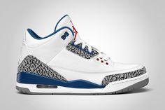 """Air Jordan 3 """"True Blue"""" Retro"""
