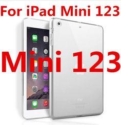 Silicone Cover For iPad Air 2 Air 1 transparent soft TPU Case For iPad 2017 For iPad 4 Mini Mini 4 Shockproof Back Cover capa