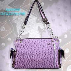 CONCEALED WEAPON PURSE PURPLE
