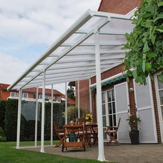 Feria™ 10ft.n H x 34ft. W x 13ft. D Patio Cover Awning