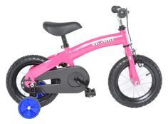 Two awesome learning bikes in one convenient package! The Vilano 2 in 1 Balance Bike Kids Pedal Bicycle helps children learn to ride a bike quickly as they transition from toddler push bike to kid's pedal bike. Boys and girls will learn balance, coordination and steering first on the push bike. Once they do, the transition to riding a pedal bike is simple. Convert to the pedal bike, and children will master pedaling, starting and stopping in no time.Available in hot pink and cool blue…