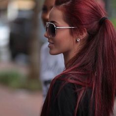 Lovely hair perfection in 2019 hair styles, cherry hair, auburn hair. Summer Hairstyles, Pretty Hairstyles, Red Hairstyles, Braided Hairstyles, Wedding Hairstyles, Redhead Hairstyles, Formal Hairstyles, Braided Updo, Straight Hairstyles