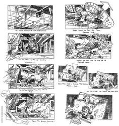 Sketching is a central part of making movies – and design. Check out these famous movie storyboards for films by Scorsese, Spielberg and more!