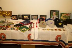 eagle scout court of honor table decorations | Eagle Court of Honor Display Table