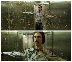 a bit creepy but also lovely scene from Dallas Buyers Club