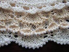 Knitting Edging Options - Stricken, verschiedene Kanten