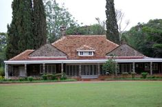 """Karen Blixen house, Kenya (the """"Out of Africa"""" house)  Might be a bit too roofy, but I like it."""