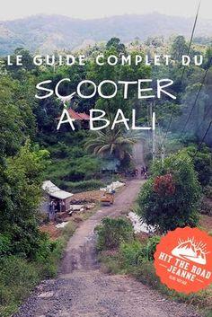 Découvrez le guide complet du scooter à Bali