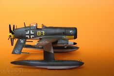 Messerschmitt Me-F4 Kampfadler Side View by Brandzai on deviantART