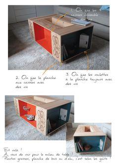 La table #DIY du Château de Chantegrive !