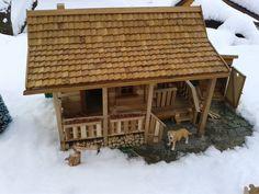 domček vlastná výroba