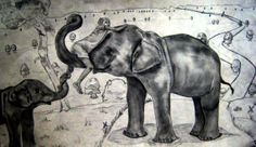 Emily Brink ~ Elephants