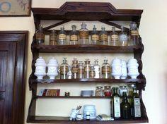 Bottiglie farmacia