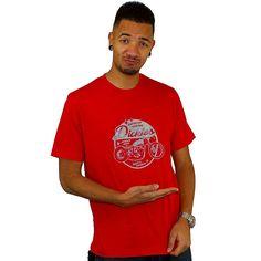 T-shirt Dickies Motor Bike red