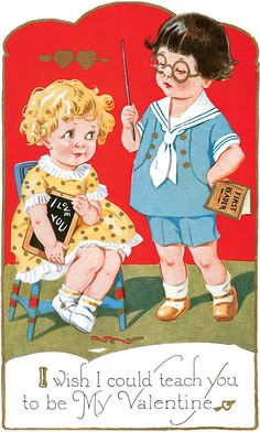 Vintage Valentine Cards And Collectibles - I Antique Online My Funny Valentine, Valentine Images, Valentines Greetings, Vintage Valentine Cards, Valentines For Boys, Vintage Greeting Cards, Valentine Day Cards, Vintage Postcards, Valentines Puns
