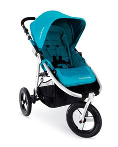 Bumbleride Indie: A jogging stroller that is at home on city streets and off road.