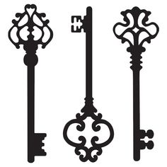 I pinned this 3 Piece Keys to My Heart Wall Decal Set from the Old World Romance event at Joss and Main!