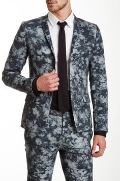 BILLTORNADE Curtis Printed Blazer by Assorted on @HauteLook