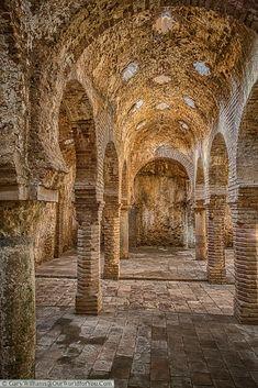 The Arab Baths, Ronda/Malaga, Spain Abandoned Buildings, Abandoned Places, Ronda Malaga, Aragon, Ronda Spain, Seville Spain, Malaga Spain, Andalusia Spain, Nerja