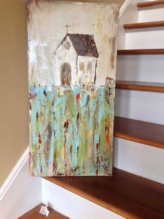 Friends, Can you feel it? The crisp in the air? We had a little taste over the weekend here but things are quickly warming back up. I am ex. Painting On Wood, Painting & Drawing, Bd Art, Guache, Love Art, Painting Inspiration, Art Lessons, Art Projects, Abstract Art
