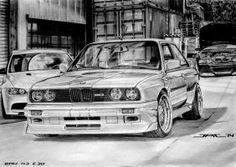 BMW M3 E30 by krzysiek-jac