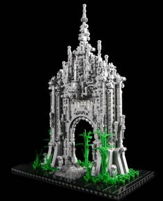 Lego castle made from 200,000 Lego pieces – It may look like a galaxy far far away or a scene from Star Trek, but this impressive castle has been made using more than 200,000 pieces of LEGO.